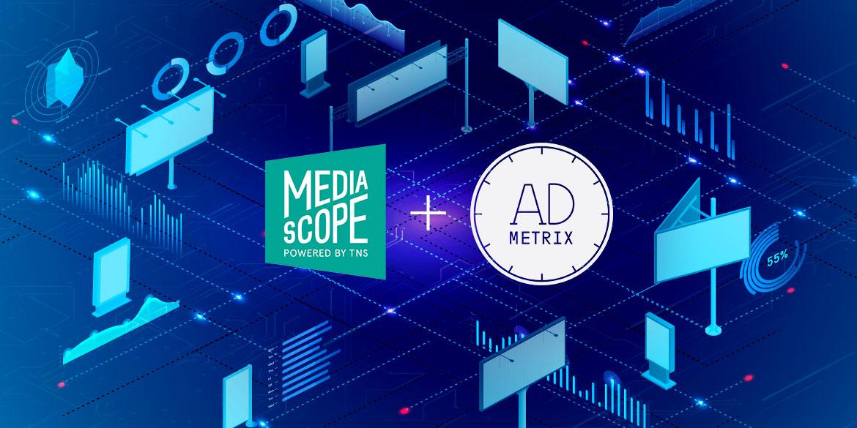 Mediascope и AdMetrix объявили о стратегическом партнерстве